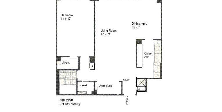 Janet Adler Realty - Floor Plan