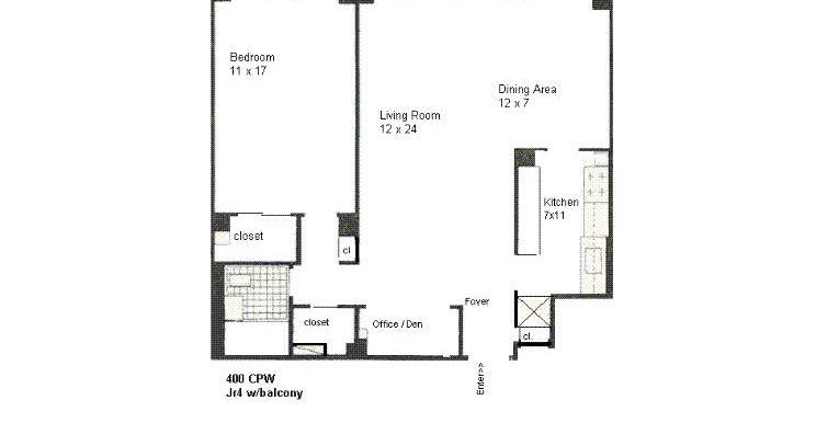Janet Adler Realty - Floor Plan